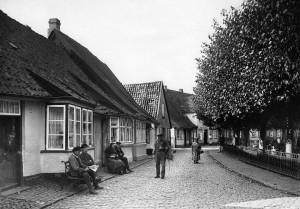 Nostalgischer Blick in die Süderholmstraße, 1927