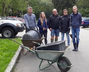 Gruppe der SIEZ & Freunde Müllsammler in Haddeby