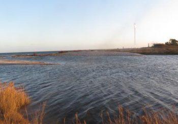 Blick nach Süden und auf die Lotseninsel. (Foto Karl Walther)
