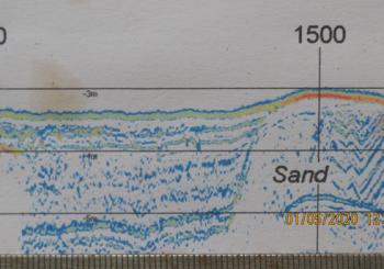 Untersuchung des SIEZ<sup>®</sup> über die Schichtungen des Untergrundes zwischen Birkensee und der Schlei sowie der Fließrichtung des Grundwassers